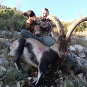Cazar ibex Beceite